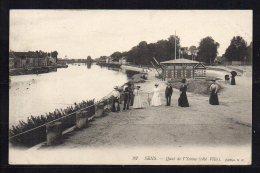 89- Sens, Quai De L'Yonne, Côté Ville - Sens