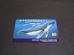 NORFOLK Telecom Whale &Calf; - Norfolkinsel