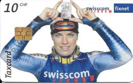 Swisscom: CP161 Nationalmannschaft Swiss-Ski Alpin, Nadia Styger. GM5