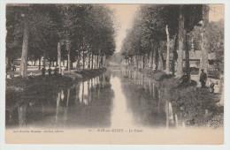 *a* BAR-sur-SEINE - Le Canal - Animée -  édit. Guillot, N°27 - Bar-sur-Seine