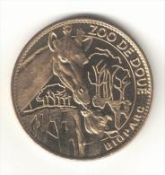 Medaille Arthus Bertrand 49.Doué - Zoo Les Girafes 2007 - Arthus Bertrand