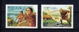 AZZORRE 1989, Settlement 450th Anniversary   Mi. 403/04 Serie Cpl. 2v.  Nuovi** Perfetti - Azores