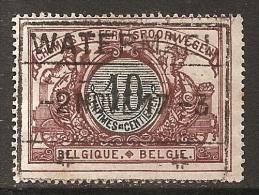 FEH-  0181           WATERMAEL        //        #        #         Ocb TR  28 - 1895-1913