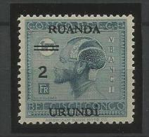 TP DU RUANDA-URUNDI N� 91 NEUFS SANS CHARNIERE