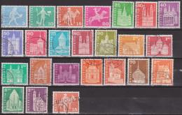 1960-68: Schweiz Lot Div. MiNr. Postgesch. Motive Gest. (d390) / Suisse Lot Diff. MiNo. Motive Historique Postal Obl. - Gebraucht