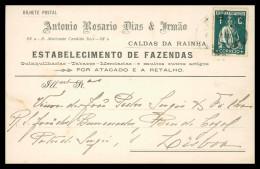 """LEIRIA - CALDAS DA RAINHA - PUBLICIDADE- """"António Rosário Dias & Irmão""""   Carte Postale - Leiria"""