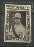TP DU RUANDA-URUNDI N� 107 NEUFS SANS CHARNIERE