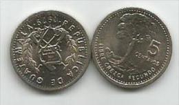 Guatemala 5 Centavos 1979. UNC - Guatemala