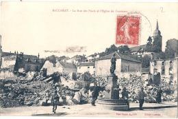 Guerre 14/18 MILITARIA - BACCARAT  La Rue Des Ponts Et église Deneuve - TTB écrite - Baccarat