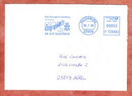 Brief, Francotyp-Postalia F728483, Kreis Herzogtum Lauenburg Alte Salzstrasse, 55 C, Ratzeburg 2009 (79395) - Lettres & Documents