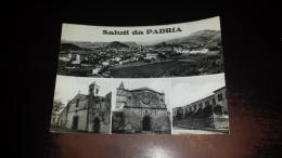 C-43342 SALUTI DA PADRIA PANORAMA CHIESA CAMPANILE - Sassari