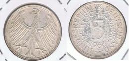 ALEMANIA DEUTSCHLAND  5 MARK 1966 F PLATA SILVER Z - [ 6] 1949-1990 : RDA - Rep. Dem. Alemana