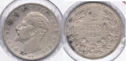 BULGARIA 2 LEBA 1894 PLATA SILVER Z BONITA - Bulgaria