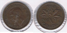 CANADA CENT  DOLLAR   1940 Z - Canada