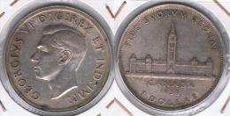 CANADA DOLLAR 1939 PLATA SILVER Z - Canada