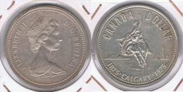 CANADA DOLLAR CALGARY  1975 PLATA SILVER Z - Canada