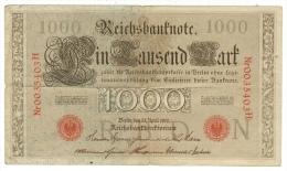Allemagne // Deutschland // Billet 1000  Marks Type 1910 - [ 3] 1918-1933 : République De Weimar