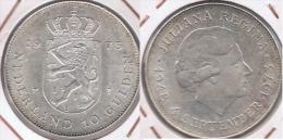 HOLANDA  10 GULDEN 1973 PLATA SILVER Z - 1948-1980 : Juliana