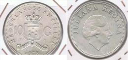 HOLANDA  ANTILLAS 10 GULDEN 1978  PLATA SILVER Z - Antillas Neerlandesas