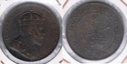 HONG KONG EDUARDO VII CENT  DOLLAR 1905 . Z BONITA - Hong Kong