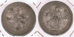 HONG KONG VICTORIA  MALASIA  DOLLAR 1900 PLATA SILVER. Z - Hong Kong