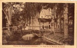 SAVIGNY-LES-BEAUNE LE PONT DE LA MAISON DU GARDE ANIMEE - France