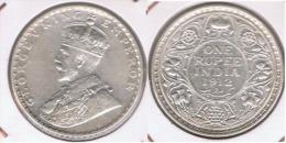 INDIA RUPIA RUPEE 1912 PLATA SILVER Z - India