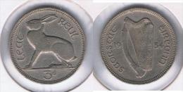 IRLANDA 3 PENCE 1934 PLATA SILVER Z - Irlanda