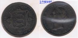 JERSEY 1 26 SCHILLING VICTORIA 1871 Z BONITA - Jersey