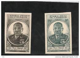 #Oceanie Scott 150-151 Yvert 180-181 (2) ** 1945 Non Perforé - Oceania (1892-1958)