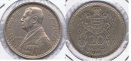 MONACO LOUIS II 20 FRANCS 1947 Z - 1922-1949 Louis II