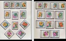 1038 - guinee - N�  520 / 28** P.A. 107 / 09 fleurs (plants - flowers) + NON DENTELE ** (imperforate)
