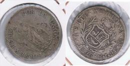 PERU 2 REALES LIMA  1826 PLATA SILVER. Z - Perú