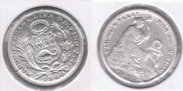 PERU DINERO 1900 PLATA SILVER. Z - Perú
