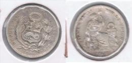 PERU DINERO 1906 PLATA SILVER. Z - Perú