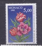 """Monaco (1995) - """"Concours De Bouquets""""  Neufs**"""