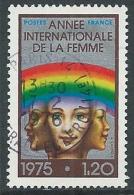 1975 FRANCIA USATO ANNO DELLA DONNA - G27 - France