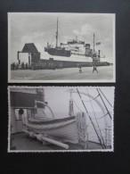 LOT 2 CP DANEMARK (M1517) GRENAA (2 Vues) Faergen, - Dinamarca