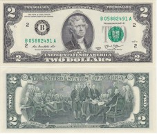 USA - 2 Dollars 2013 - B New York UNC Lemberg-Zp