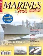 Marines-84. Revista Marines & Forces Navales, Nº 84. En Frances - Revues & Journaux