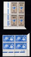 SOUTH AFRICA, 1964, MNH Control Block Of 4, Nursing Association, M 342-343 - South Africa (1961-...)