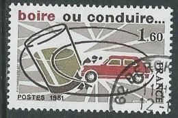 1981 FRANCIA USATO SICUREZZA STRADALE - G28 - Frankreich