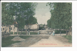 Carte LE PETIT MORVILLIERS   ( Recto Verso ) - France