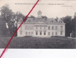 CP 62  -    SAULTY - Le Château  - Environs D'Avesnes-leComte - France