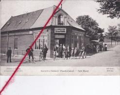 CP 62  -    SAULTY-L'ARBRET   - Café Marel - France