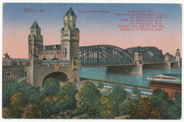 Köln, Hohenzollernbrücke - Köln