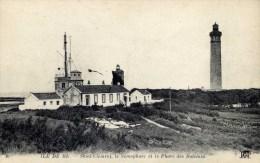 Ile De Ré  SAINT-CLEMENT Le Sémaphore Et Le Phare Des Baleines - Ile De Ré