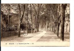 77 MEAUX N° 90 : LE BOULEVARD Jean-Rose -Cabinet Travail Bossuet / CPA LL écrite Datée 1913 / TTBE - Meaux