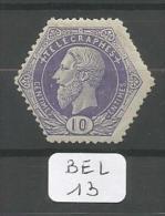 BEL COB TG  3 En Xx YT Télégraphe  3 - Telegraph