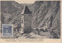 Carte  Maximum  ANDORRE   Oratoire  De   MERITXELL   1952 - Ohne Zuordnung